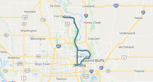 Ride Spot Map Screenshot