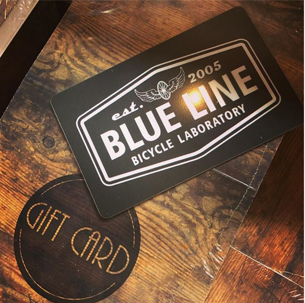 Blue Line Bike Lab Gift Card