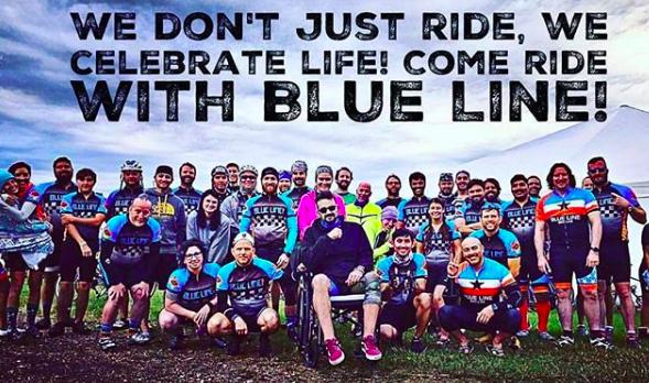 Team Blue Line Bicycle Lab
