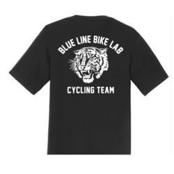 Blue Line Bike Lab Team Tiger Womens T-Shirt