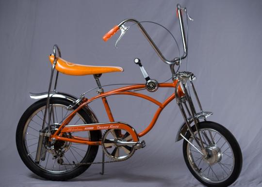 ff36ddd1418 SCHWINN ORANGE KRATE Manufactured in 1969 In 1963 the Schwinn Bicycle  Company revolutionized cycling for kids