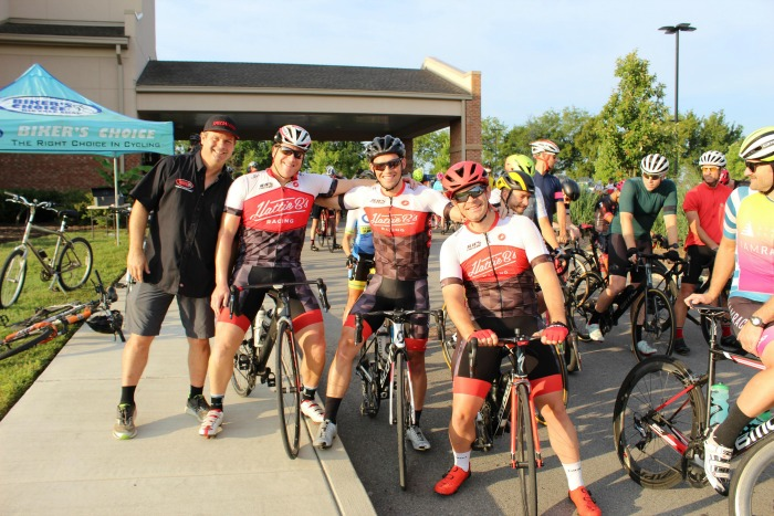 group of riders at Biker's Choice event
