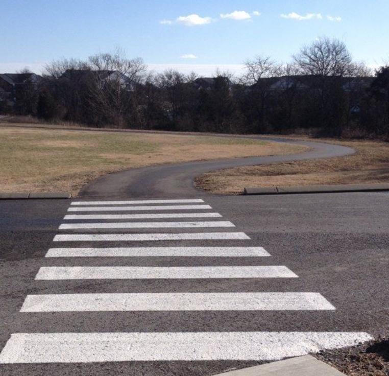 paved bike trail