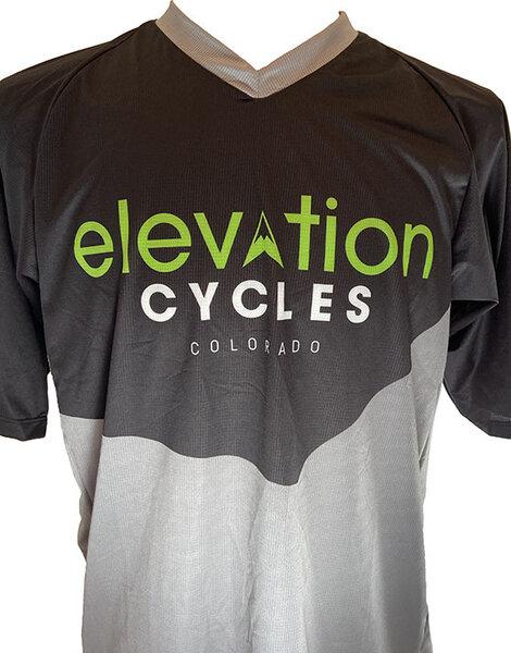 Elevation Cycles Custom M TECH TEE CUSTOM ELEVATION BLK/GRAY