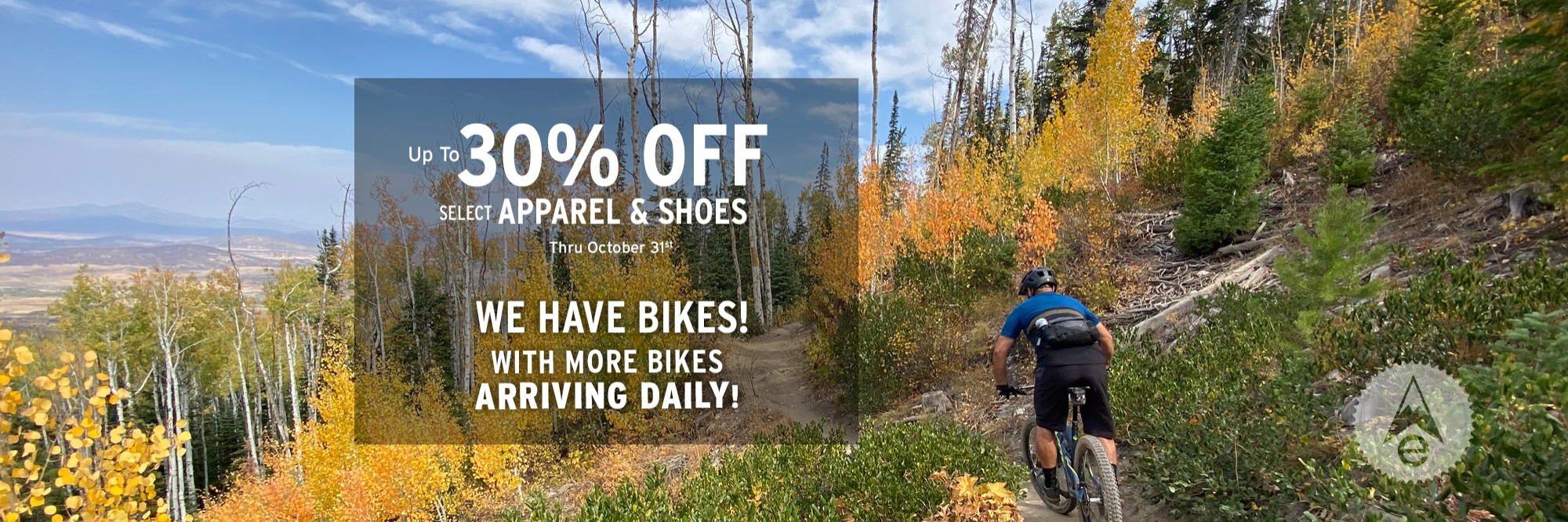 30% Off Bike Apparel & Bike Shoes Denver Colorado October 2020