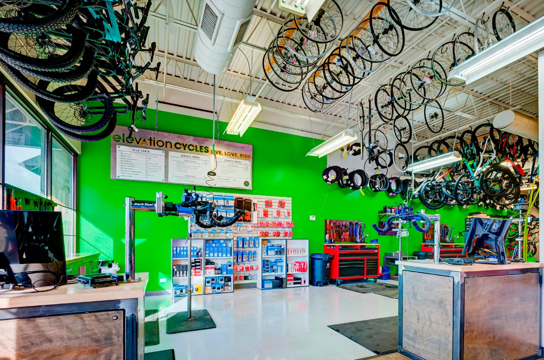 Elevation Cycles Highlands Ranch Colorado Bike Shop Service Tune Ups