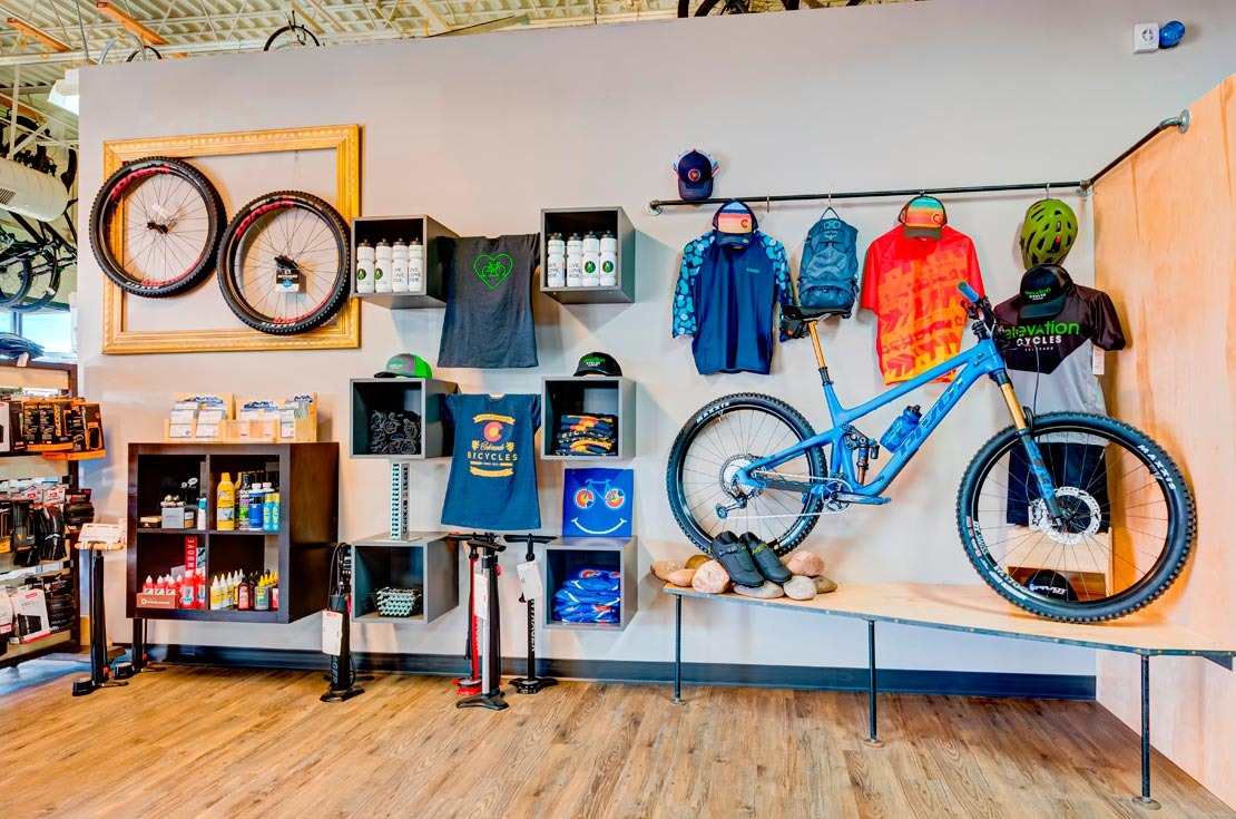 Elevation Cycles Highlands Ranch Colorado Bike Shop Colorado Tshirts Pivot Mountain Bike Apparel