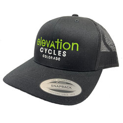 Elevation Cycles Custom ELEVATION CYCLES TRUCKER HAT EMBROIDERED LOGO