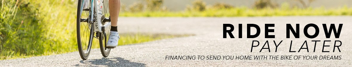 Ride Now Pay Later | Financing to send you home with the bike of your dreams