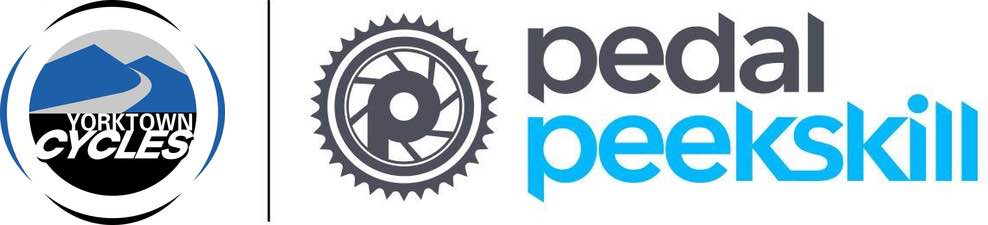 Yorktown Cycles & Pedal Peekskill logos