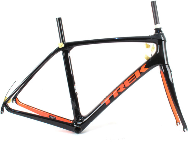 Trek 2019 Domane SLR Rim Brake Frame // 56cm Black/Orange