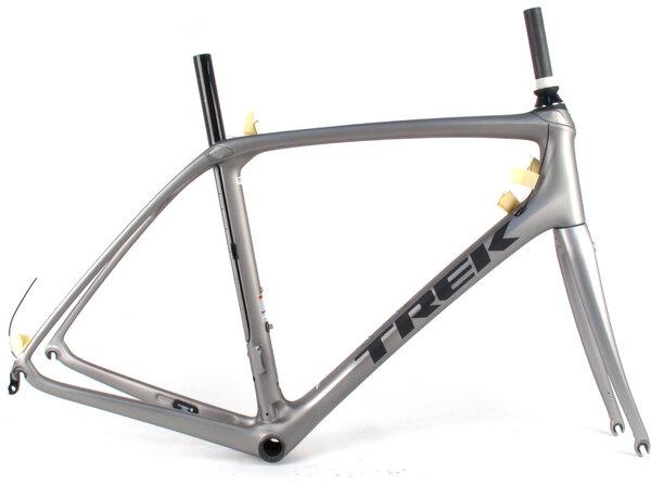 Trek Domane SLR Rim Brake Frame // 58cm Silver/Black