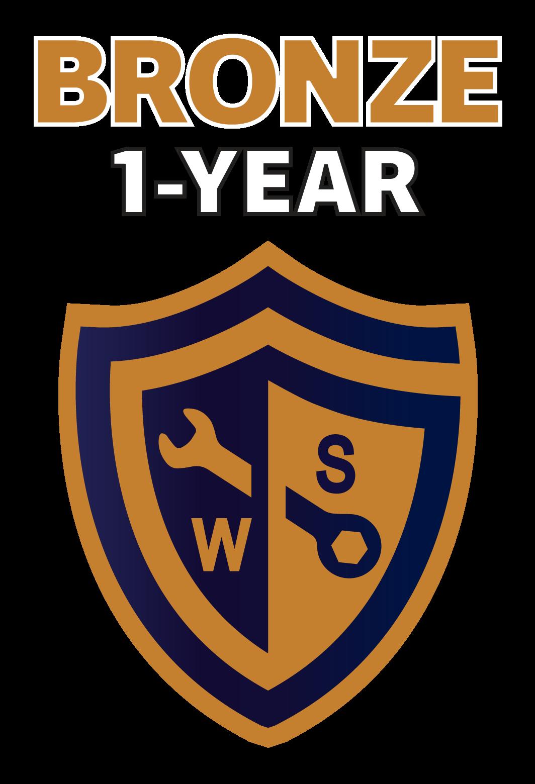 bronze - 1 year