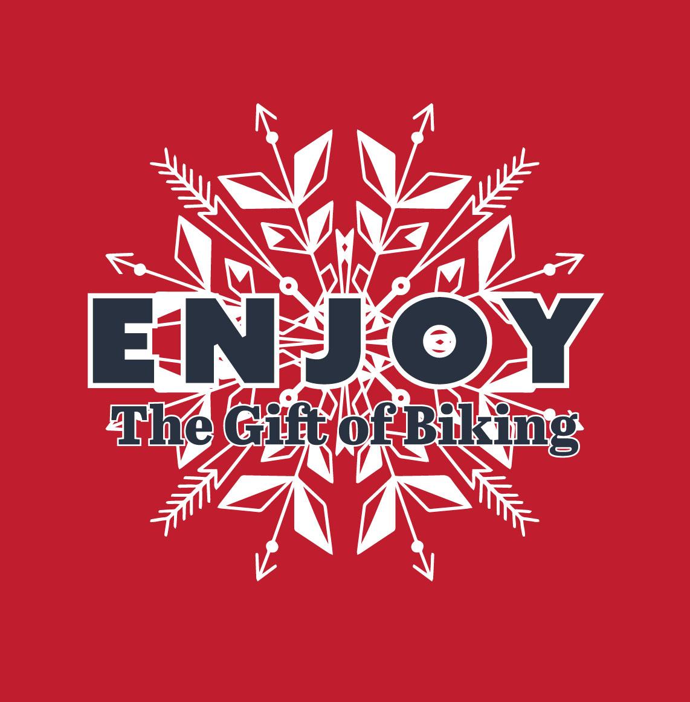 Enjoy the gift of biking