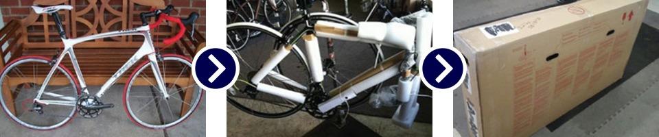 Bike packing & shipping