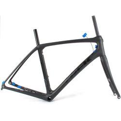 Trek Trek P1 Domane SLR Disc Brake Road Bike Frameset Black/Black