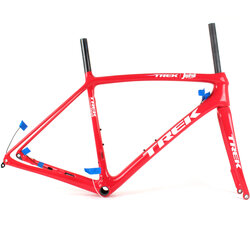 Trek Emonda SLR Disc Road Frameset // Project One // Red/White