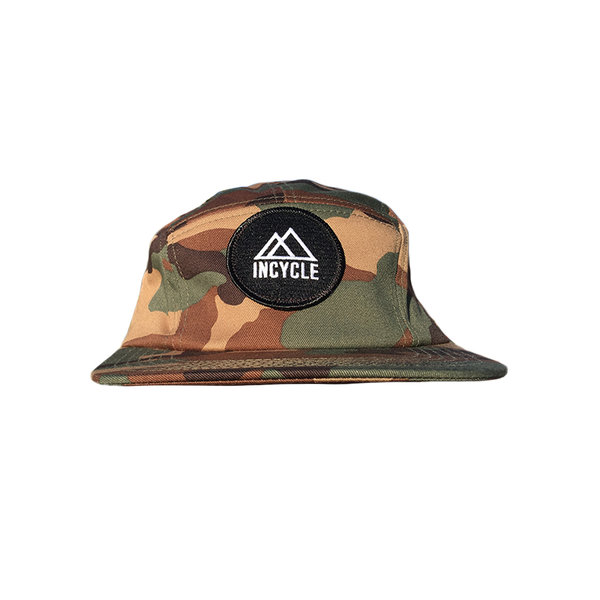 Incycle Incycle Camper Hat Round Patch Camo