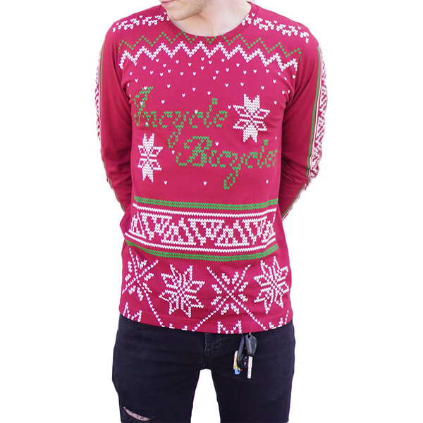 Incycle Incycle Ugly Sweater LS Tee