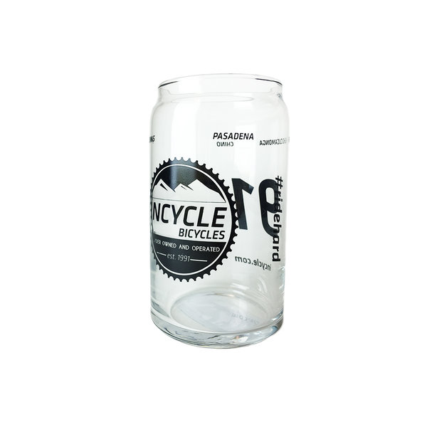 Incycle Incycle Beer Can Glass