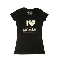DH Wear DH Wear Love My Man Tee Wmns