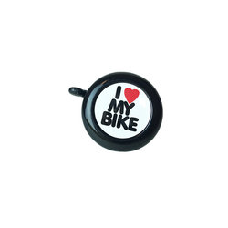Incycle Incycle I Love My Bike Bell Blk