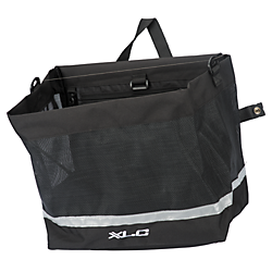 XLC XLC Shopper Pannier Metro 1144 cu in. Black