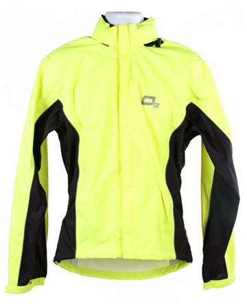 Rainshield Rainshield 02 Cycling Jacket Hi-Vis Yellow