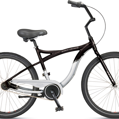 Cruiser type rental bike