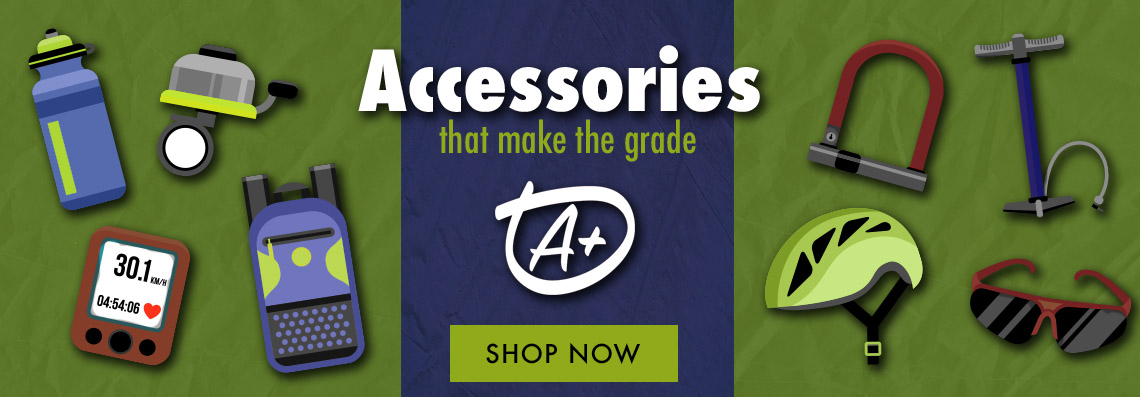 Accessories that make the grade