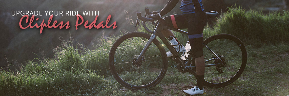 Upgrade your ride with clipless pedals