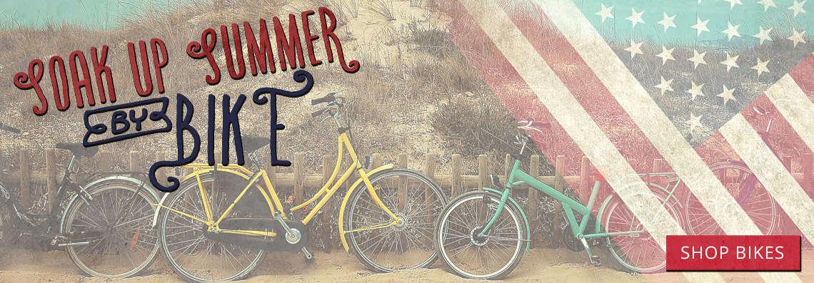 Soak up summer with a bike from B&L Bike Shop