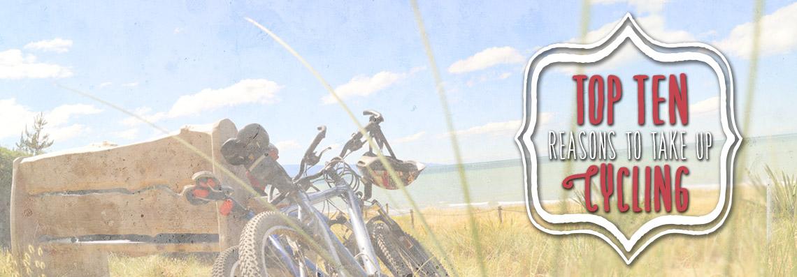 Top ten reasons to take up cycling
