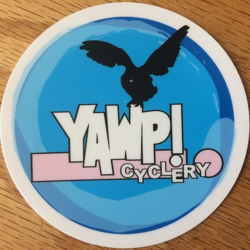 YAWP! Cyclery Sticker