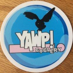 YAWP! Cyclery Sticker