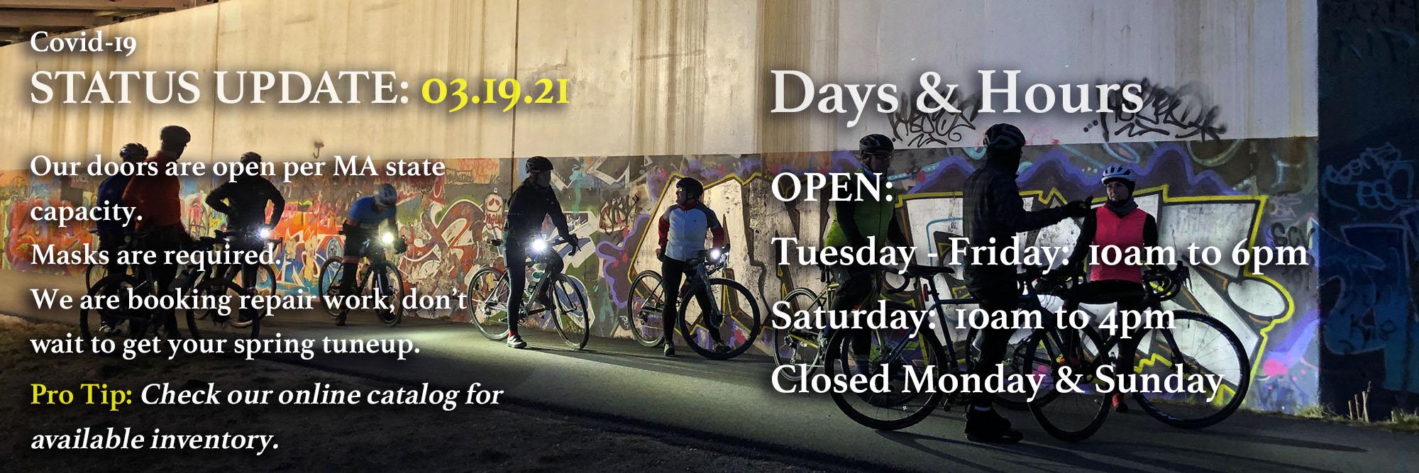 Bikework Hours