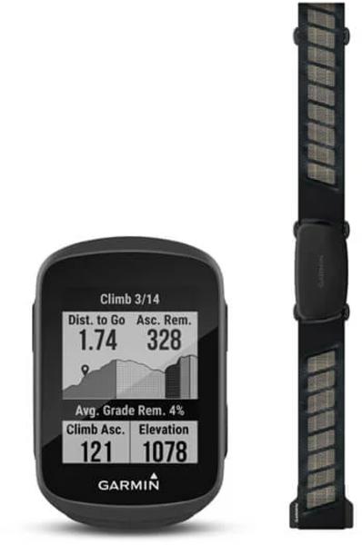 Garmin Edge® 130 Plus HRM Bundle (Includes HRM-Dual™)