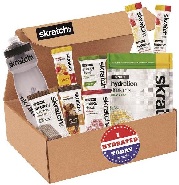 Skratch Labs SKRATCH LABS - SAMPLER BOX w/FREE BOTTLE