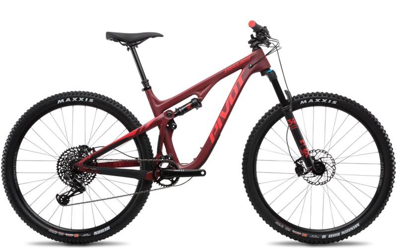 Pivot Trail 429 GX rental bike