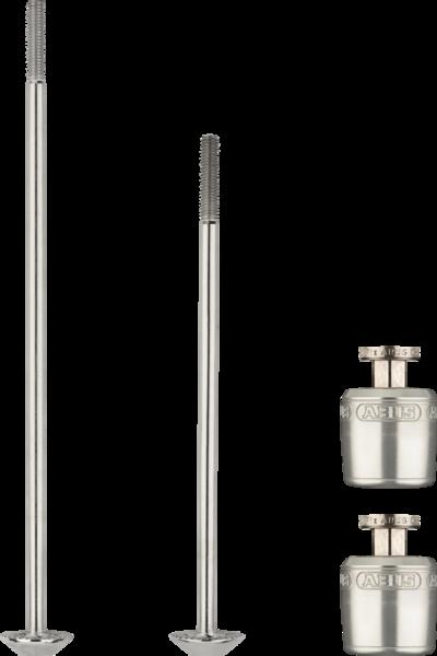 ABUS Nutfix Axle Set, Locking skewers, Pair, 120/150mm, Black