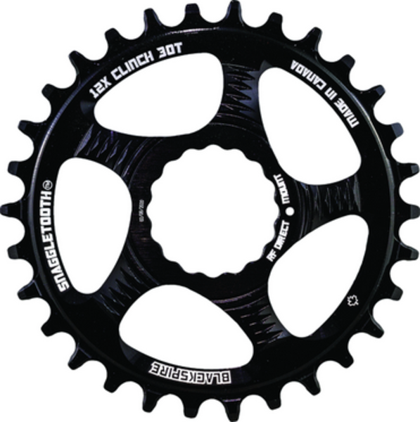 Blackspire Snaggletooth N/W RaceFace CINCH DM 30T for Shimano 12sp (Non Boost Offset)