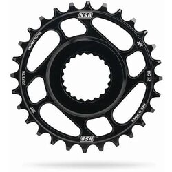 North Shore Billet NSB Variable Tooth Chainring, Direct Mount, Race Face Cinch, Boost, For Shimano 12 speed
