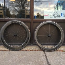 USED- Enve Smart 60mm Wheelset DT240 10speed tubular