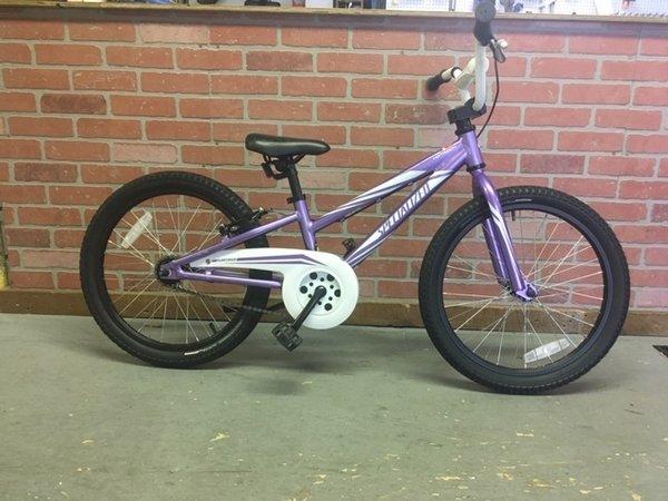 """Bike Barn Specialized Hotrock 20"""" Purple"""