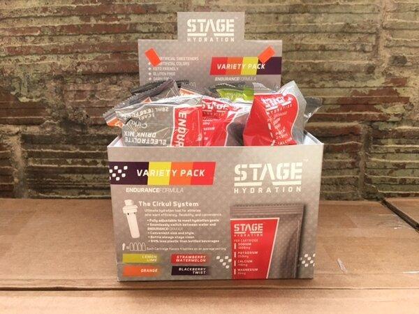 Bike Barn USA Stage Hydration Endurance Cartridge Flavors