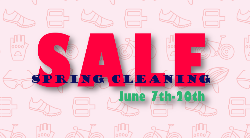 Sprang Cleaning Sale!