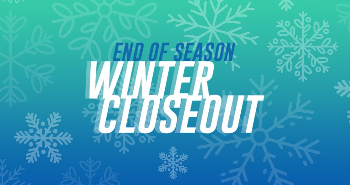 Winter closeout clothes sale