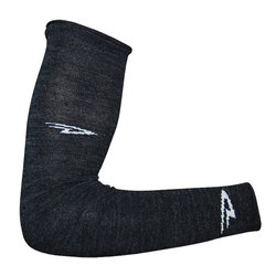 DeFeet Charcoal Wool Armskins Arm Warmers