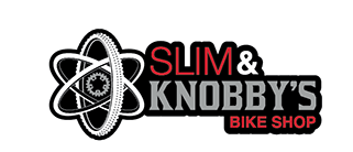Slim & Knobby's Bike Shop Logo