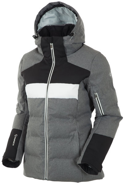 Sunice Louise Jacket Color: Charcoal Melange/Black Combo